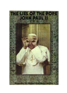 The Lies of The Pope John Paul II by Monsenor Dr. Rafael Rodriguez Guillen .pdf