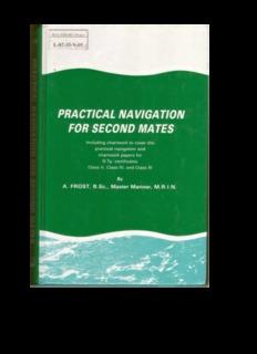 Practical Navigation for Second Mates