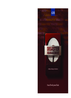 Disaster Management: A Disaster Manager's Handbook - Asian
