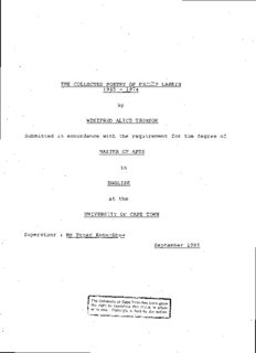 The collected poetry of Philip Larkin, 1945-1974.