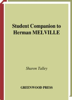 Student Companion to Herman Melville (Student Companions to Classic Writers)