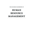 Oxford Handbook of Human Resource Management