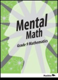 Mental Math: Grade 9 Mathematics