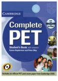 Complete PET. Student's Book with Answers