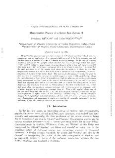 Magnetization Process of a Screw Spin System. II Yoshiharu KITANO* and Takeo NAGAMIYA