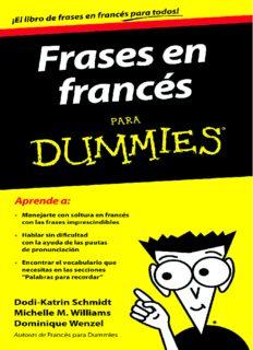 Frases en francés para Dummies - Varios autores