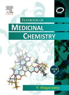 TEXTBOOK OF MEDICINAL CHEMISTRY Volume II