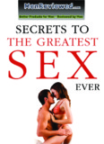 Secrets to the greatest sex ever