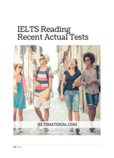[Ebook] IELTS Reading Recent Tests with Answer Key.pdf