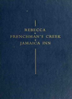 Three Romantic Novels of Cornwall (Rebecca; Frenchman's Creek; Jamaica Inn)