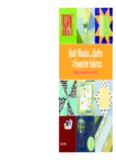 Quilt Blocks and Quilts from Your Favorite Fabrics: Recycling Fabrics as You Learn to Quilt (Easy