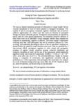 Feeling the Future: Experimental Evidence for - Judith Orloff MD