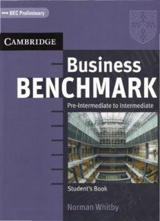 Business Benchmark. Pre-intermediate to Intermediate SB. BEC Preliminary
