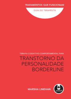 Terapia Cognitivo-Comportamental Para Transtorno da Personalidade Borderline: Guia do terapeuta