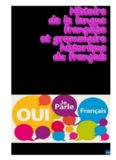 Histoire de la langue française et grammaire historique du français