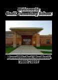Skoff Elementary School Parent/Student Handbook 2016 - 2017