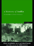 A History of India, Third Edition