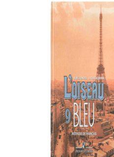 L'oiseau bleu 9: Méthode de français