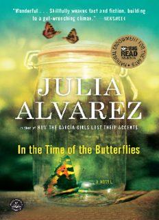 In the Time of Butterflies - Julia Alvarez FULL TEXT.pdf