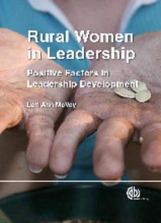Rural women in leadership: positive factors for leadership development