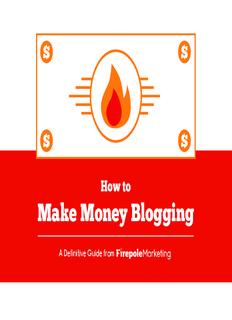 How to Make Money Blogging - s3.amazonaws.com