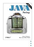 Java Swing -- O'REILLY
