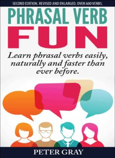 Phrasal verb fun learn phrasal verbs easily naturally and faster than before