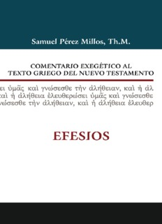comentario exegético al texto griego del nuevo testamento v. 2