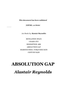 Alastair Reynolds - Revelation Space 04 - Absolution Gap