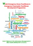 Welsh Emergency Nurse Practitioner & Emergency Paramedic
