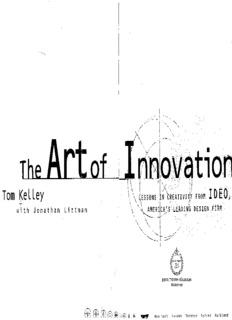 Book Tom Kelley The Art Of Innovation.pdf