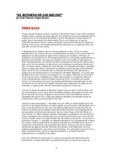 EL RETORNO DE LOS BRUJOS de Louis Pauwels i Jaques Bergier. en PDF