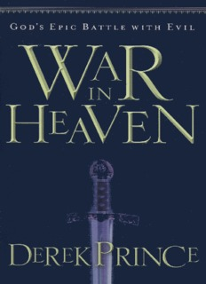 War in Heaven – Derek Prince