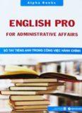 Sổ tay tiếng Anh trong công việc hành chính