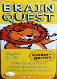 Brain Quest Kindergarten: 300 Questions and Answers to Get a Smart Start