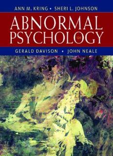 Abnormal Psychology, 12th Edition