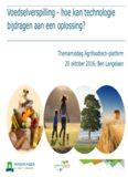 ben-langelaan-2016-10-20-bijeenkomst-agrifoodtech-platform_bijdrage-ben