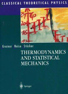 Greiner N - Thermodynamics and Statistical Mechanics, Springer, 1997.pdf