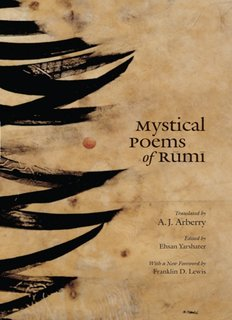 Mystical Poems of Rumi - words cascade
