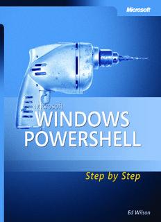 Microsoft Windows PowerShell Step By Step eBook