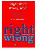Right Word Wrong Word: Words and Structures Confused and Misused (Grammar Reference)