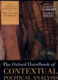 The Oxford Handbook of Contextual Political Analysis (Oxford Handbooks of Political Science)