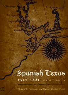 Spanish Texas, 1519-1821 (Clifton and Shirley Caldwell Texas Heritage)