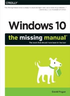Windows 10 The Missing Manual.pdf