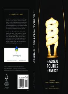 The Global Politics of Energy