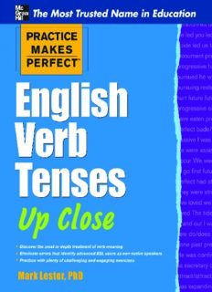 English Verb Tenses Up Close