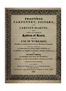 Practical carpentry, joinery, and cabinet-making [by P. Nicholson