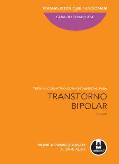 Terapia Cognitivo-comportamental para Transtorno Bipolar - Guia do Terapeuta