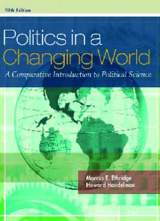 Politics in a Changing World: A Comparative Introduction to Political Science, 5th Edition