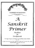 02 A Sanskrit Primer (University of Michigan).pdf